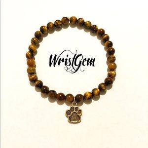 """WristGem """"Dog Lovers"""" Meditation Bracelet ."""